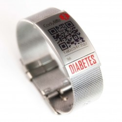 Milanese Mesh placa diabetes
